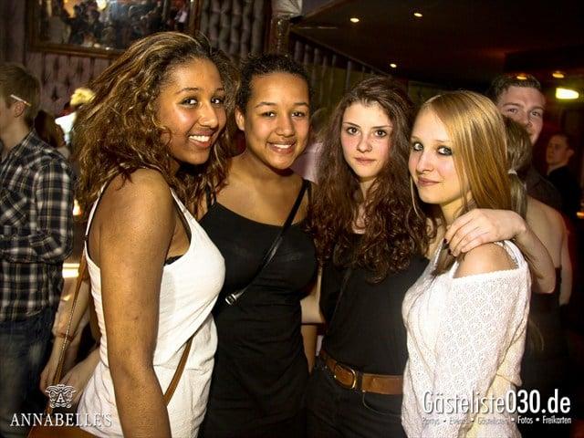 https://www.gaesteliste030.de/Partyfoto #18 Annabelle's Berlin vom 09.04.2012
