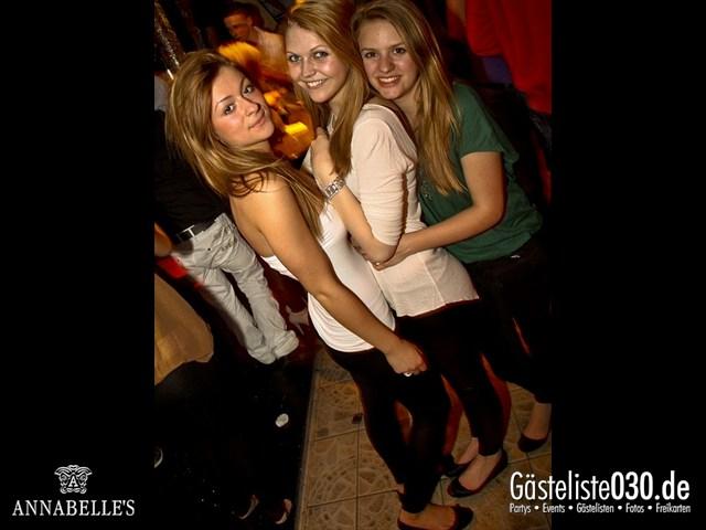 https://www.gaesteliste030.de/Partyfoto #92 Annabelle's Berlin vom 09.04.2012