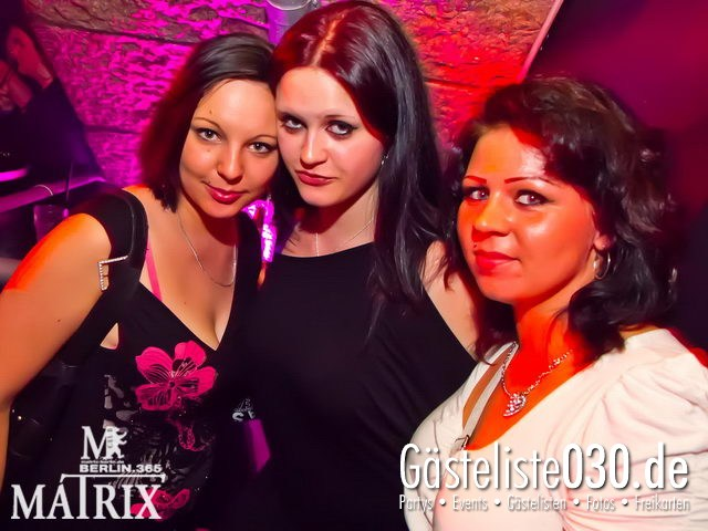 https://www.gaesteliste030.de/Partyfoto #62 Matrix Berlin vom 04.05.2012