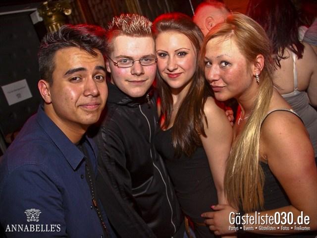 https://www.gaesteliste030.de/Partyfoto #49 Annabelle's Berlin vom 11.04.2012