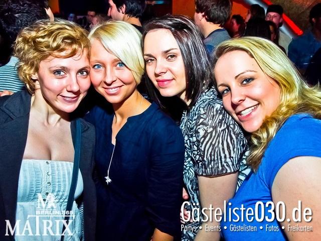 https://www.gaesteliste030.de/Partyfoto #44 Matrix Berlin vom 05.04.2012