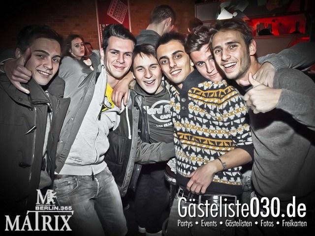 https://www.gaesteliste030.de/Partyfoto #89 Matrix Berlin vom 13.01.2012