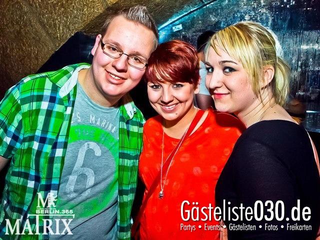 https://www.gaesteliste030.de/Partyfoto #120 Matrix Berlin vom 13.04.2012