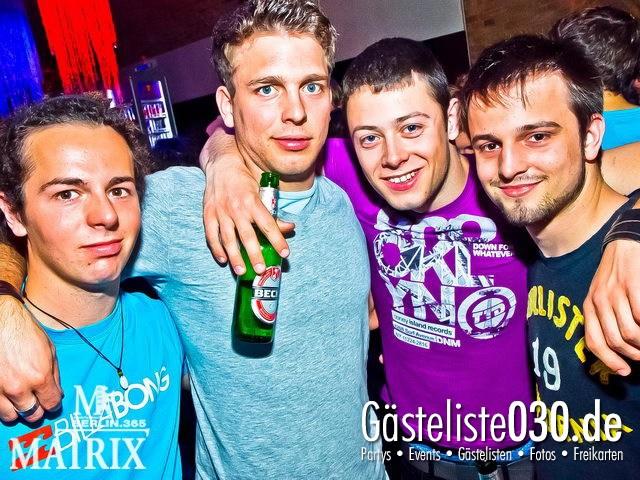 https://www.gaesteliste030.de/Partyfoto #62 Matrix Berlin vom 12.04.2012