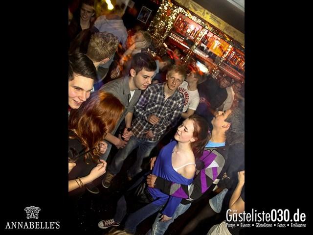 https://www.gaesteliste030.de/Partyfoto #69 Annabelle's Berlin vom 09.04.2012