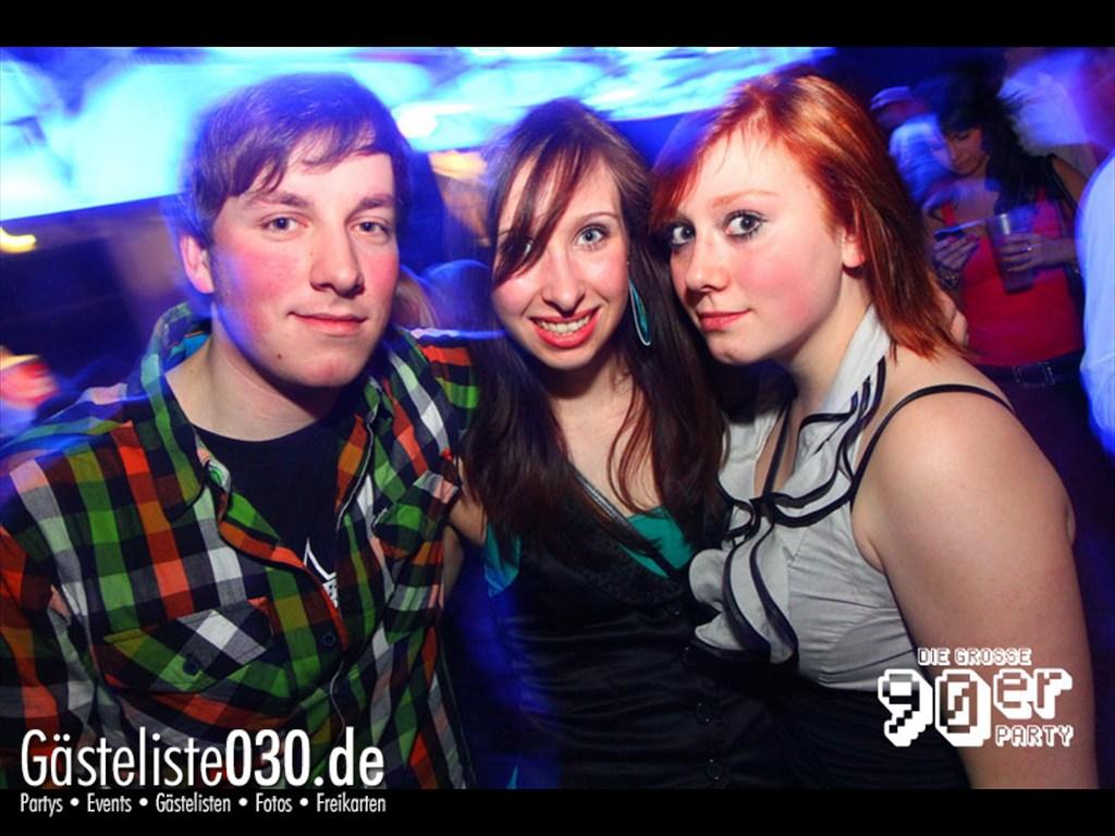 Partyfoto #50 Fritzclub 08.04.2012 !Back for Good! Die große 90iger Jahre Party im Fritz Club und Postbahnhof
