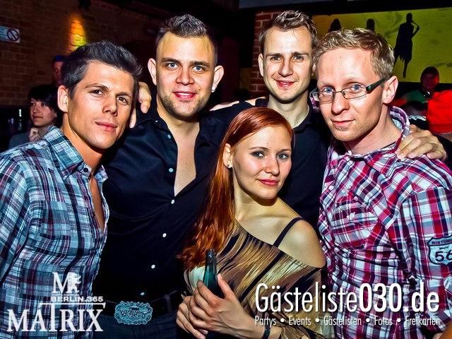 https://www.gaesteliste030.de/Partyfoto #12 Matrix Berlin vom 18.04.2012