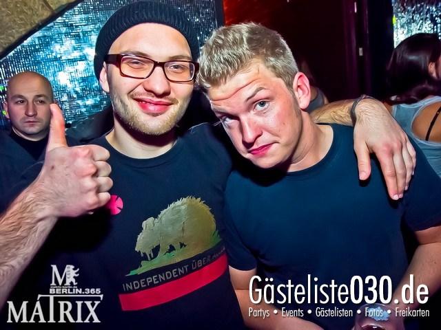 https://www.gaesteliste030.de/Partyfoto #54 Matrix Berlin vom 11.01.2012