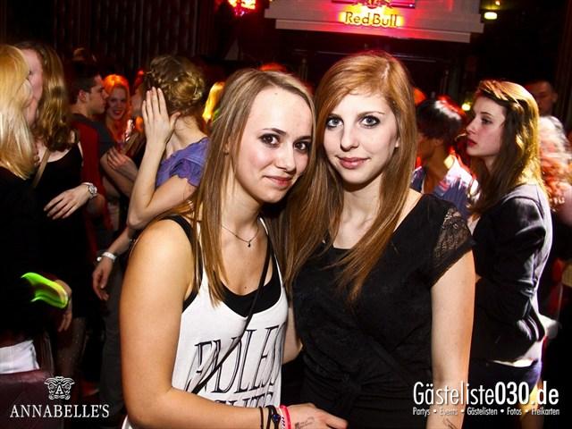 https://www.gaesteliste030.de/Partyfoto #126 Annabelle's Berlin vom 10.04.2012