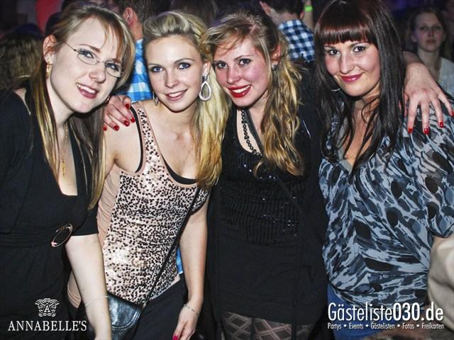 https://www.gaesteliste030.de/Partyfoto #3 Annabelle's Berlin vom 13.04.2012