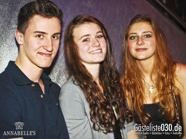https://www.gaesteliste030.de/Partyfoto #53 Annabelle's Berlin vom 13.04.2012