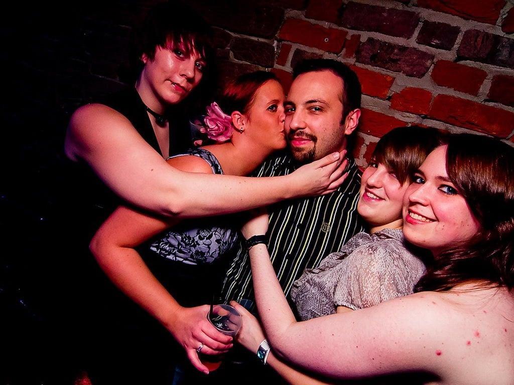 Partyfoto #49 Q-Dorf 03.01.2012 Black Attack