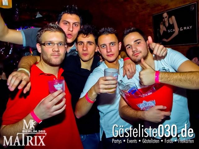 https://www.gaesteliste030.de/Partyfoto #55 Matrix Berlin vom 11.01.2012