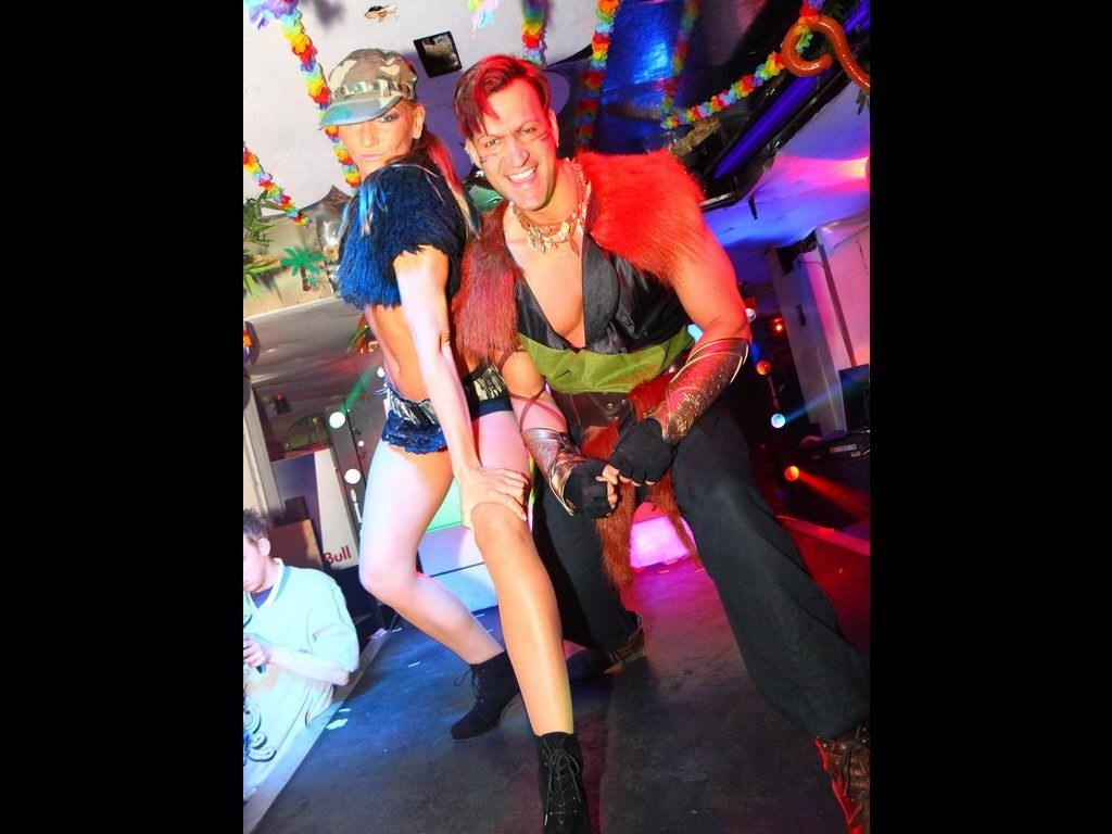 Partyfoto #48 Q-Dorf 28.01.2012 Galaktika