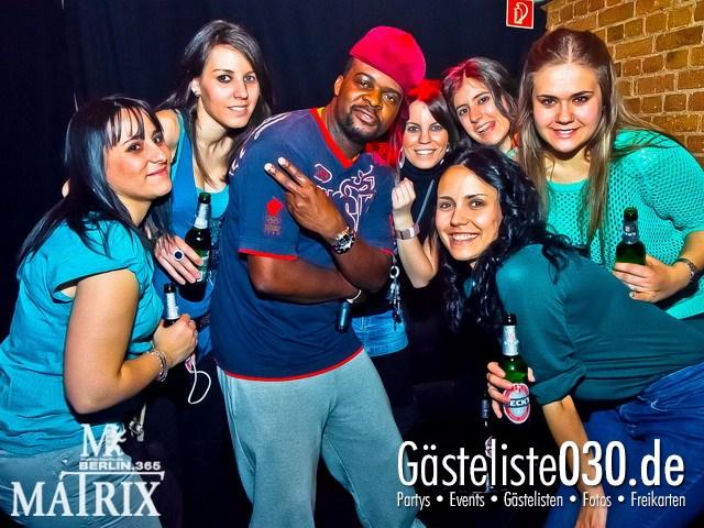 https://www.gaesteliste030.de/Partyfoto #63 Matrix Berlin vom 05.04.2012