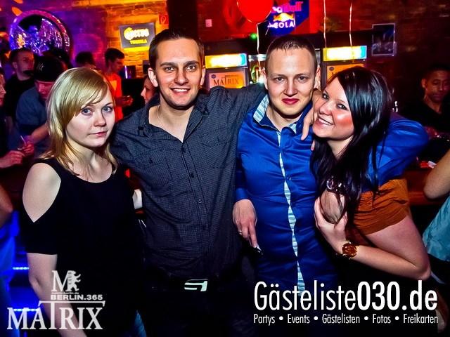 https://www.gaesteliste030.de/Partyfoto #26 Matrix Berlin vom 14.02.2012