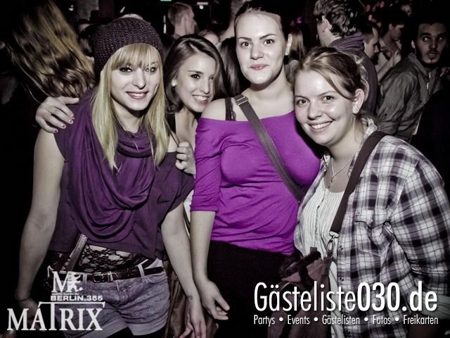 https://www.gaesteliste030.de/Partyfoto #22 Matrix Berlin vom 25.01.2012