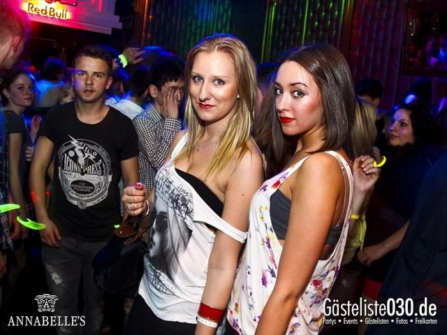 https://www.gaesteliste030.de/Partyfoto #63 Annabelle's Berlin vom 10.04.2012