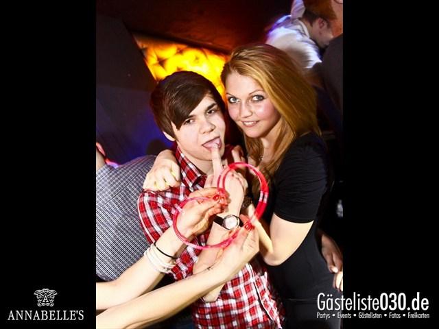 https://www.gaesteliste030.de/Partyfoto #111 Annabelle's Berlin vom 10.04.2012