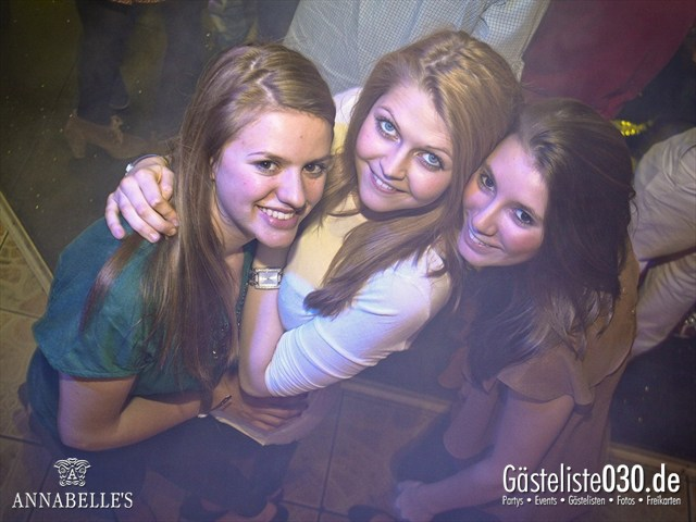 https://www.gaesteliste030.de/Partyfoto #45 Annabelle's Berlin vom 09.04.2012