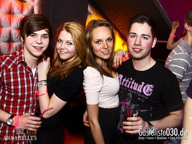https://www.gaesteliste030.de/Partyfoto #57 Annabelle's Berlin vom 10.04.2012