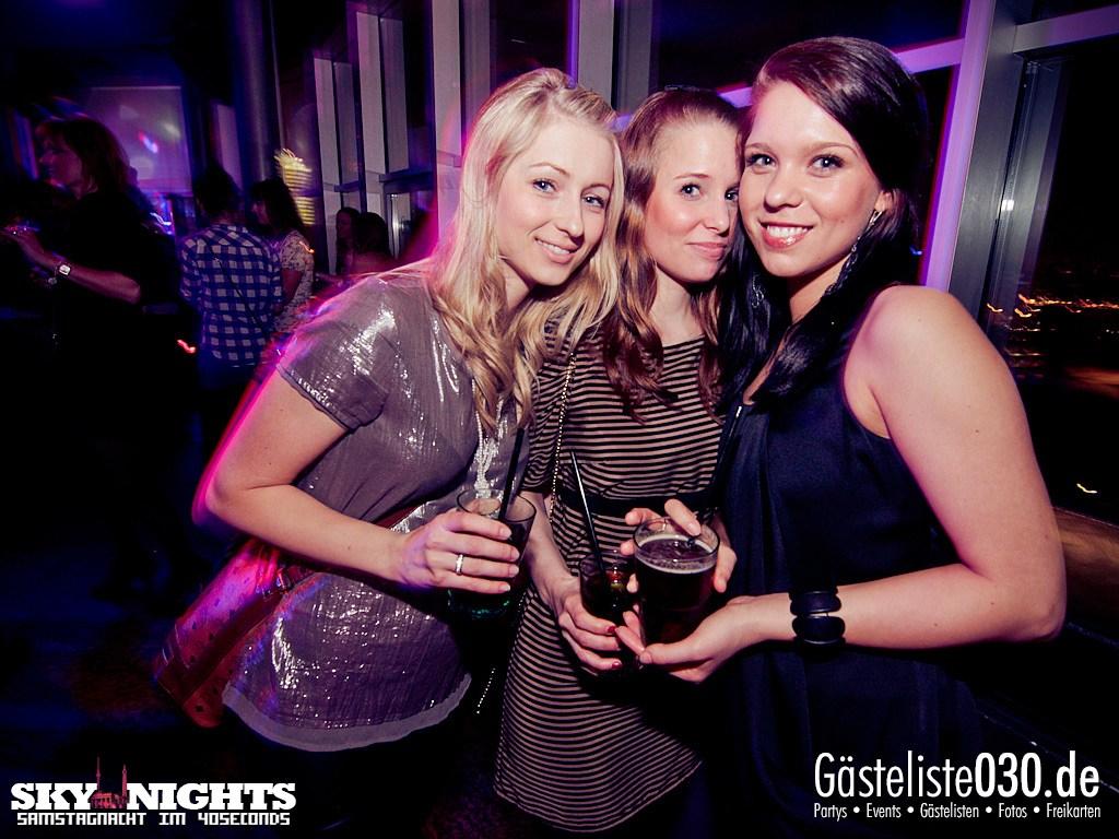 Partyfoto #49 40seconds 17.03.2012 SkyNights - Samstag-Nacht