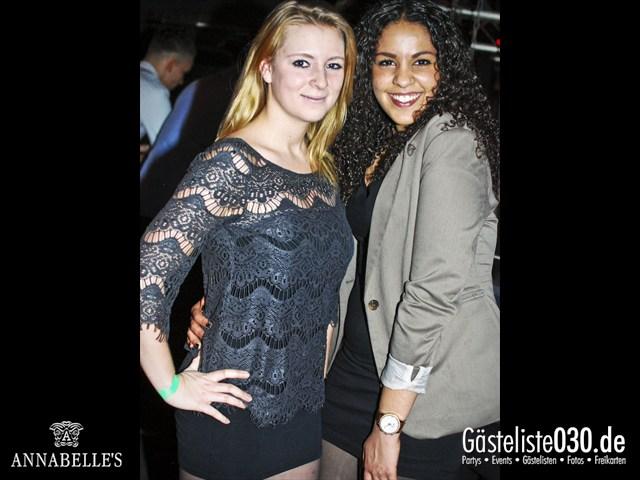 https://www.gaesteliste030.de/Partyfoto #67 Annabelle's Berlin vom 13.04.2012