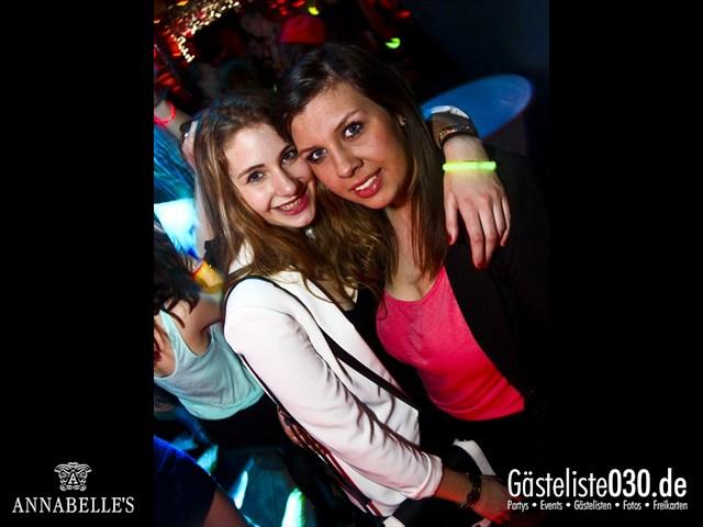 https://www.gaesteliste030.de/Partyfoto #136 Annabelle's Berlin vom 10.04.2012