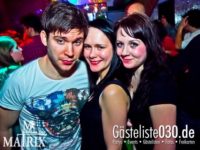 https://www.gaesteliste030.de/Partyfoto #98 Matrix Berlin vom 14.03.2012