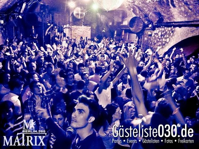 https://www.gaesteliste030.de/Partyfoto #84 Matrix Berlin vom 12.05.2012