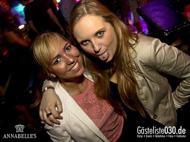https://www.gaesteliste030.de/Partyfoto #68 Annabelle's Berlin vom 09.04.2012