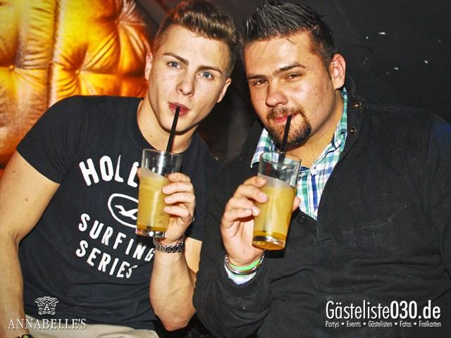 https://www.gaesteliste030.de/Partyfoto #49 Annabelle's Berlin vom 13.04.2012