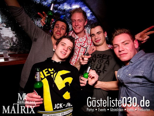 https://www.gaesteliste030.de/Partyfoto #23 Matrix Berlin vom 05.01.2012