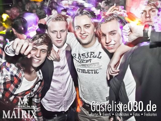 https://www.gaesteliste030.de/Partyfoto #112 Matrix Berlin vom 06.01.2012