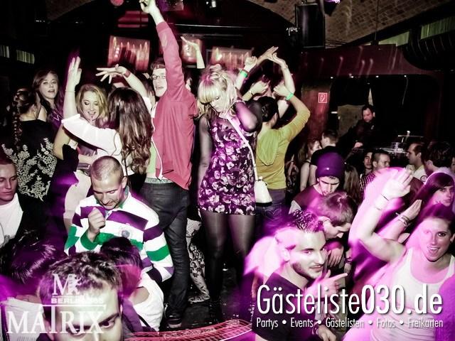 https://www.gaesteliste030.de/Partyfoto #46 Matrix Berlin vom 12.01.2012