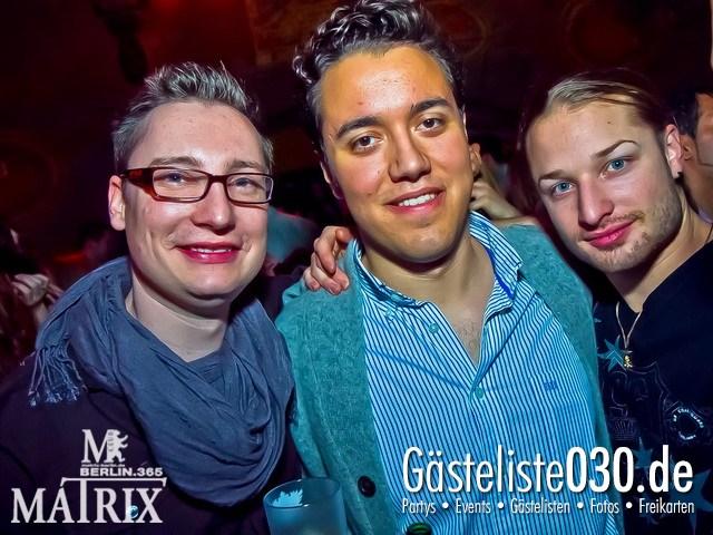 https://www.gaesteliste030.de/Partyfoto #70 Matrix Berlin vom 13.01.2012