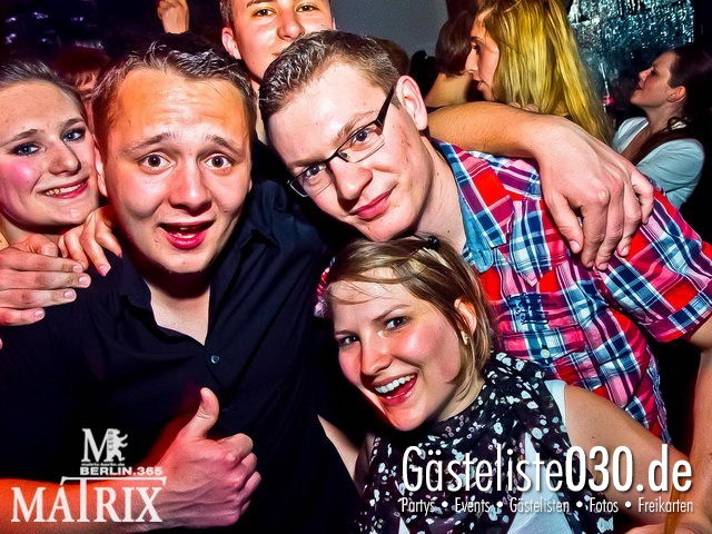 https://www.gaesteliste030.de/Partyfoto #60 Matrix Berlin vom 18.04.2012