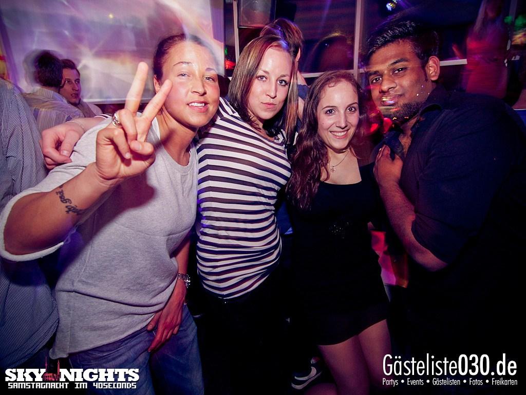 Partyfoto #48 40seconds 31.03.2012 SkyNights - Samstag-Nacht.
