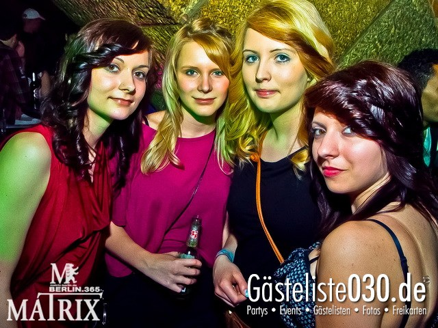 https://www.gaesteliste030.de/Partyfoto #32 Matrix Berlin vom 31.03.2012