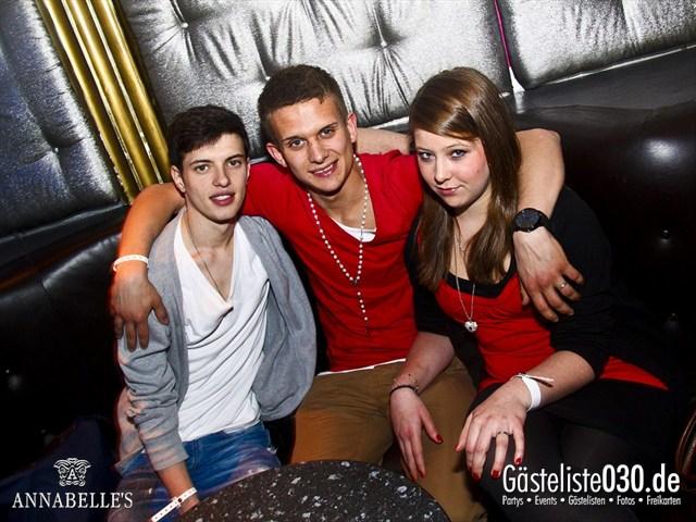 https://www.gaesteliste030.de/Partyfoto #72 Annabelle's Berlin vom 10.04.2012