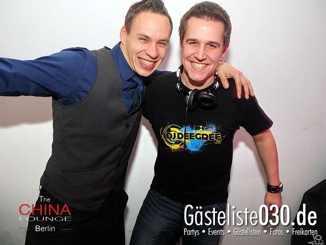 https://www.gaesteliste030.de/Partyfoto #67 China Lounge Berlin vom 09.12.2011