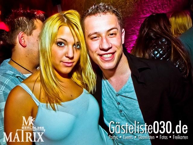 https://www.gaesteliste030.de/Partyfoto #65 Matrix Berlin vom 20.04.2012