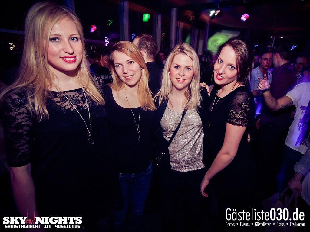 Partyfoto #48 40seconds 03.03.2012 SkyNights - Samstag-Nacht