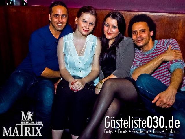 https://www.gaesteliste030.de/Partyfoto #43 Matrix Berlin vom 12.04.2012