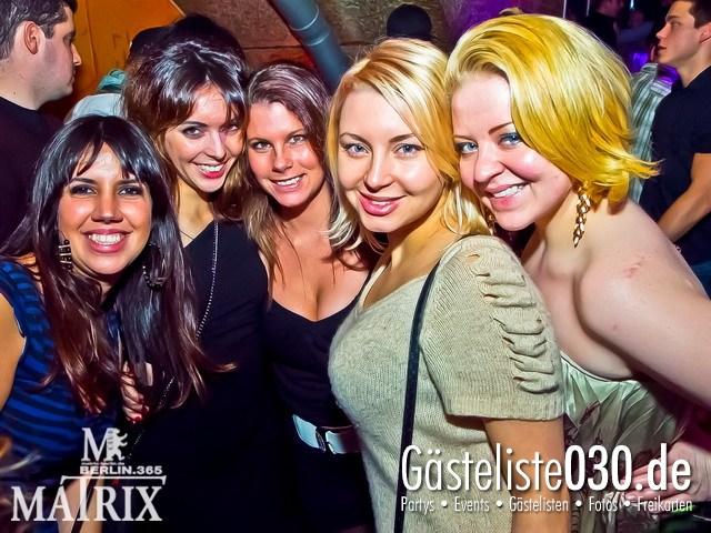 https://www.gaesteliste030.de/Partyfoto #12 Matrix Berlin vom 13.01.2012