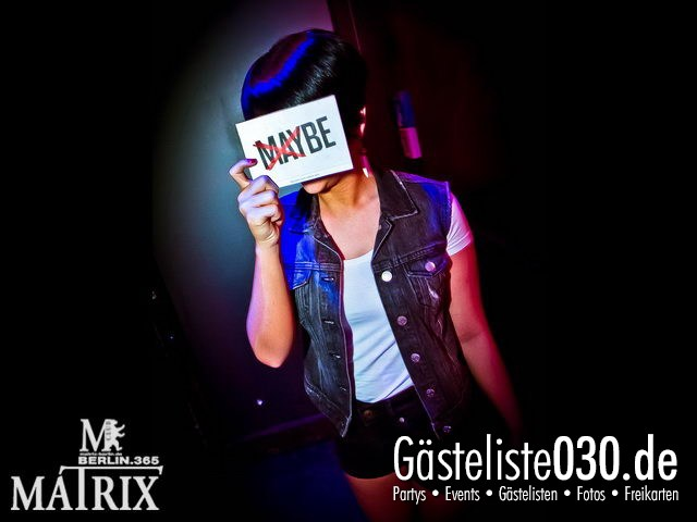 https://www.gaesteliste030.de/Partyfoto #23 Matrix Berlin vom 10.05.2012