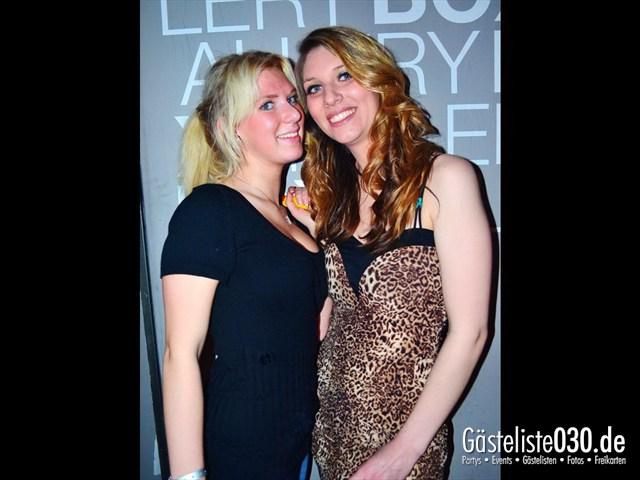 https://www.gaesteliste030.de/Partyfoto #41 Box Gallery Berlin vom 05.04.2012