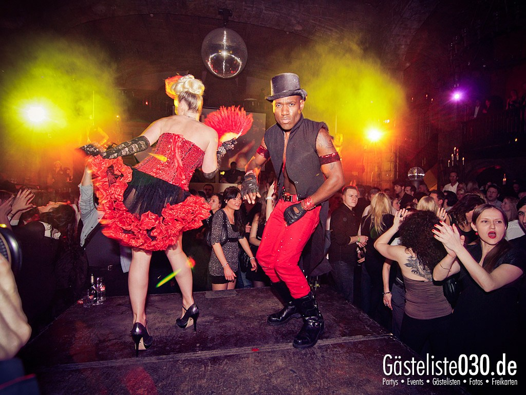 Partyfoto #50 Adagio 03.03.2012 The ROUGE of MOULIN - spectacular burlesque supported by Edelprinz Events