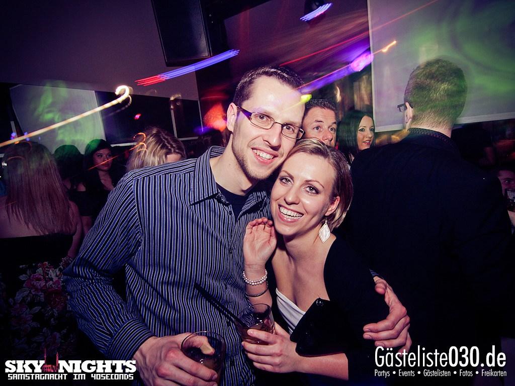 Partyfoto #50 40seconds 03.03.2012 SkyNights - Samstag-Nacht