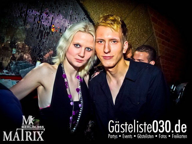https://www.gaesteliste030.de/Partyfoto #30 Matrix Berlin vom 25.01.2012